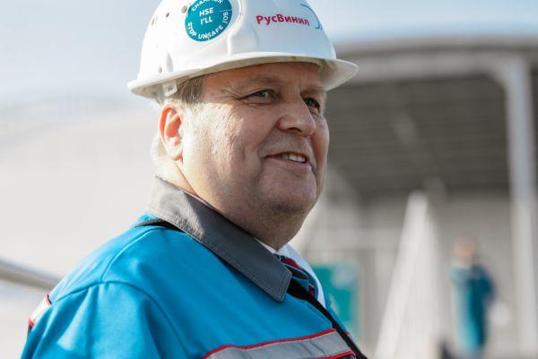 Современное химическое предприятие может быть безвредным, – гендиректор «РусВинила» Гюнтер Надольны