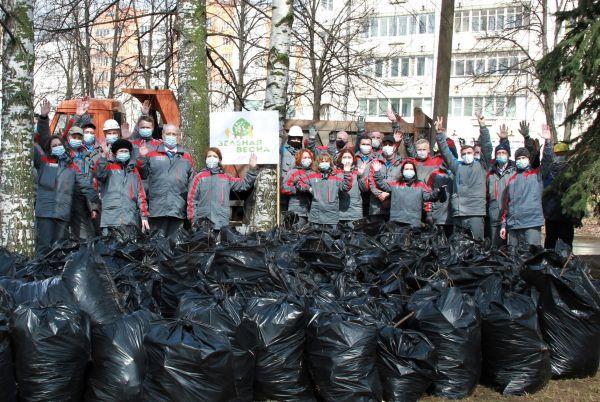 Сотрудники «РусВинила» приняли участие в «Зеленой весне»