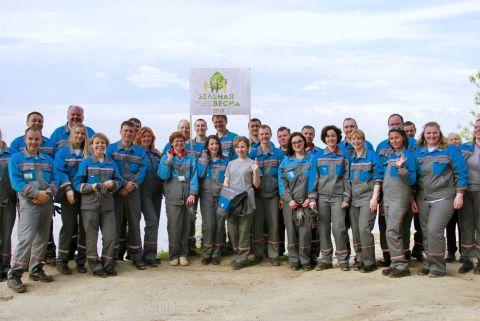 «РусВинил» поддержал Всероссийскую акцию «Зеленая весна»