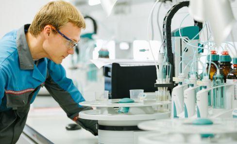 Работа производственно-аналитической лаборатории