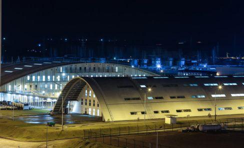Вид на комплекс административных зданий